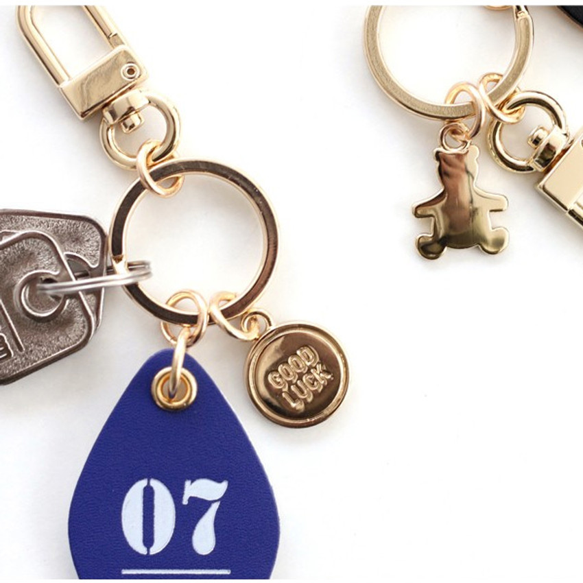 Puerto Rico Souvenirs Rican Metal key holder ring Island