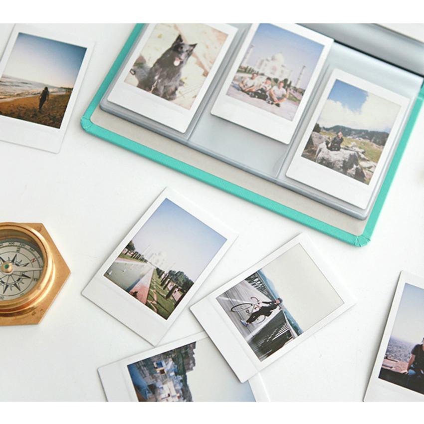 Use example of Prism slip in pocket name card album