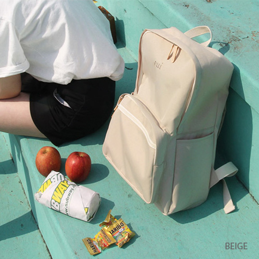 Beige - Around'D mais oui backpack