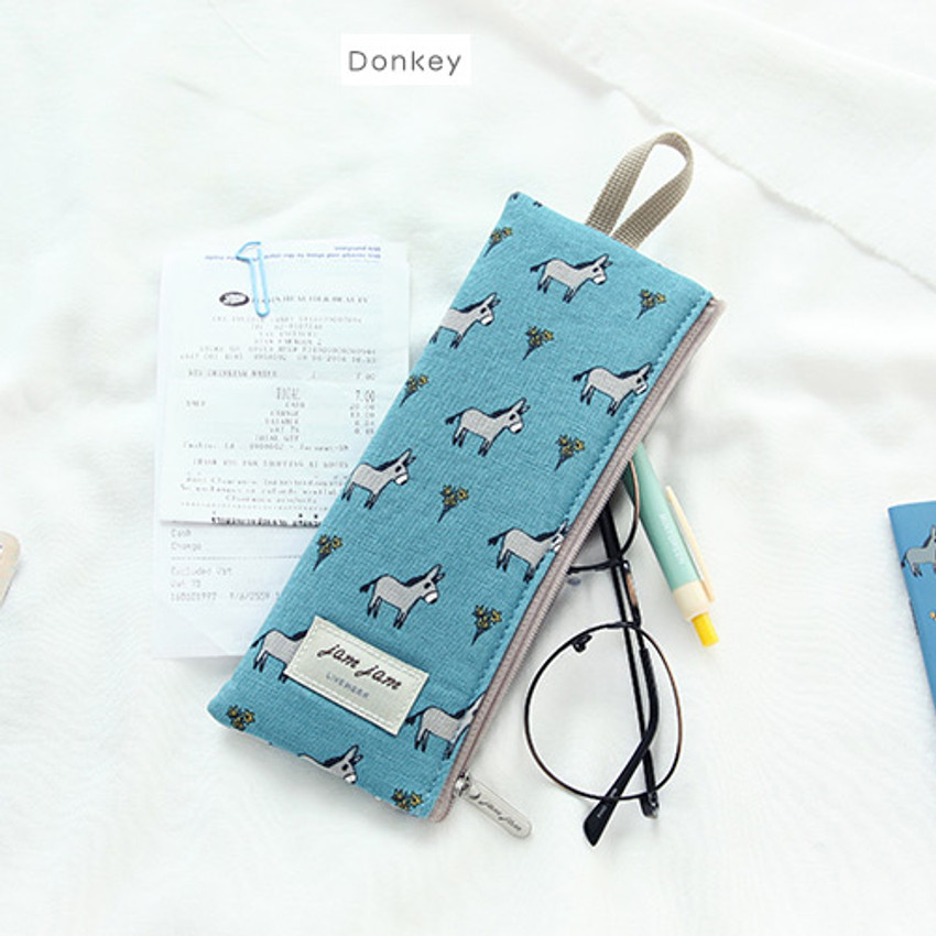 Donkey - Jam Jam webbing pencil case ver2