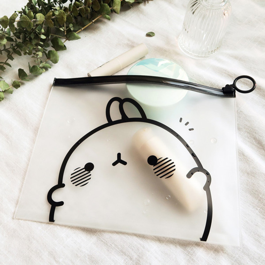 Molang zip lock large pouch ver2