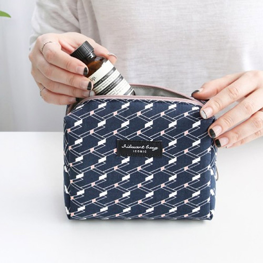 Angle - Comely pattern makeup pouch bag