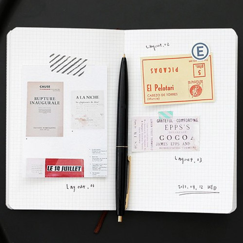 Grid note - Un recueil dessais essay notebook