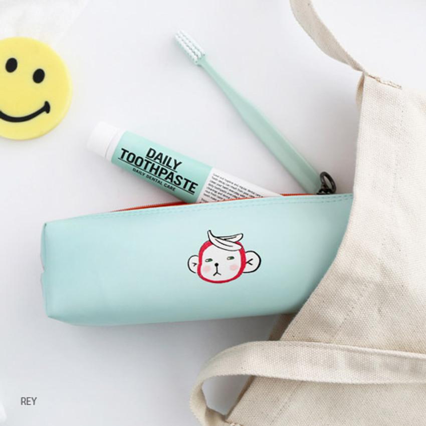 Rey - Hellogeeks petite zipper pencil case