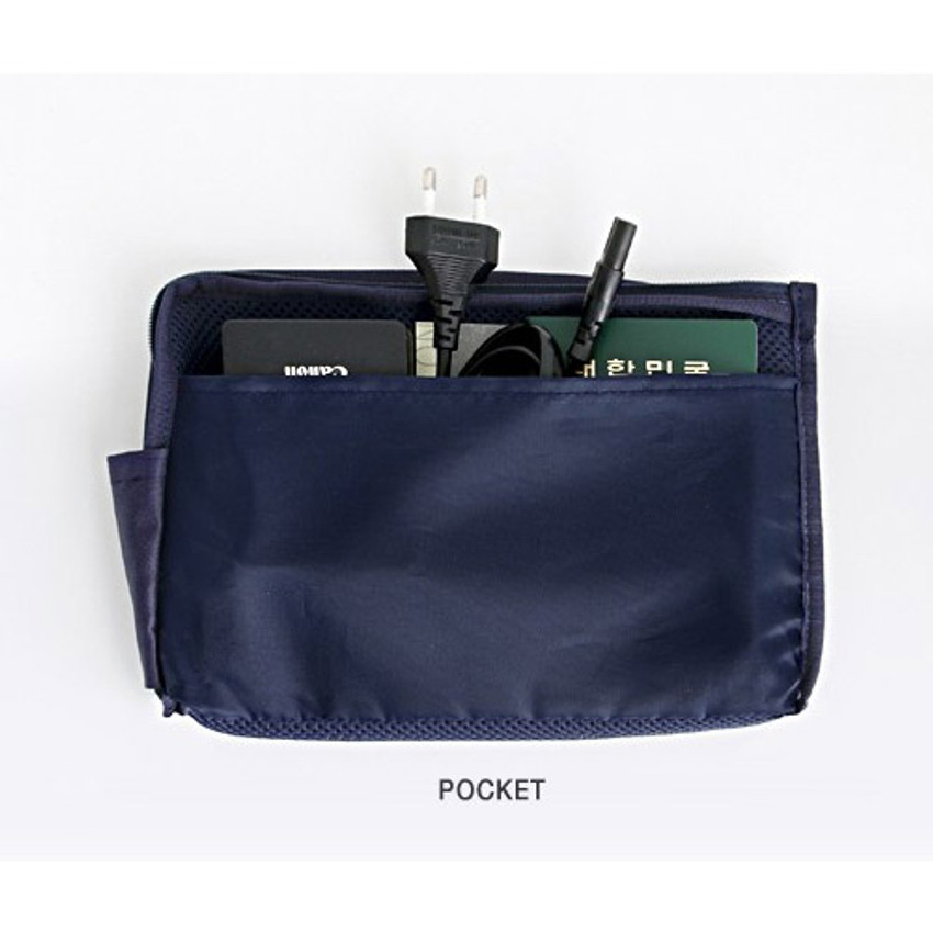 Pocket - Walking in the air large cable pouch