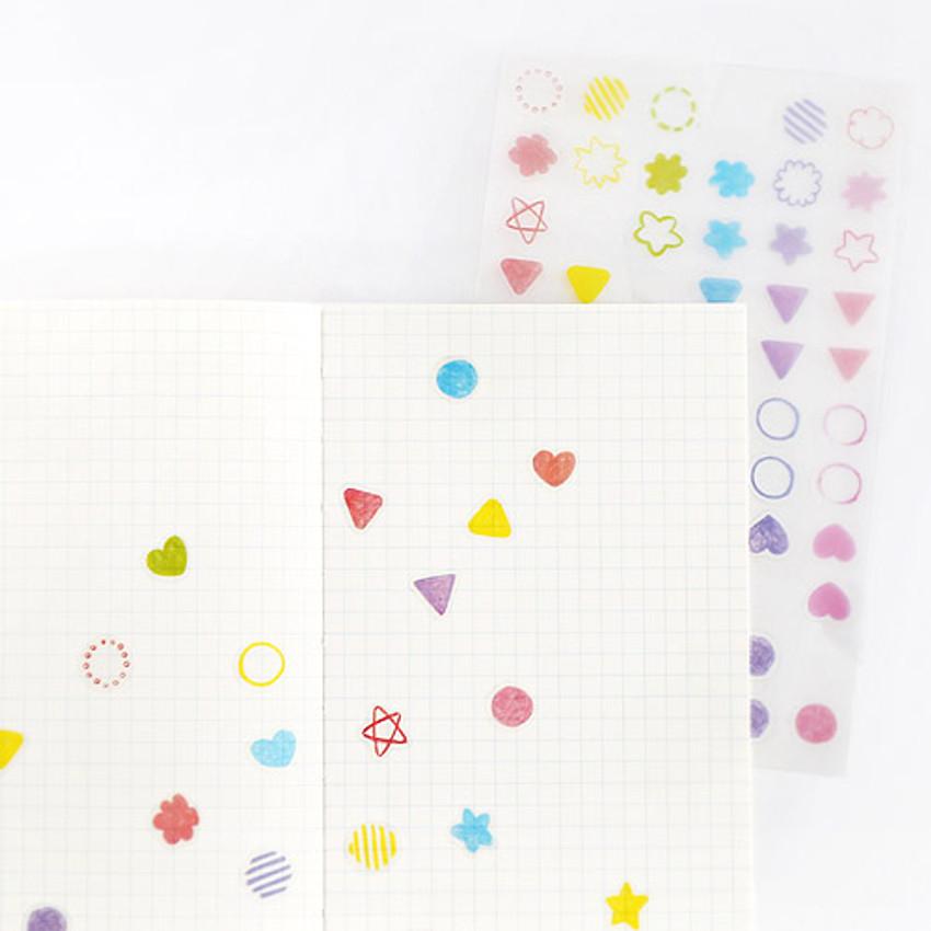Transparent sticker - Hellogeeks petite deco sticker