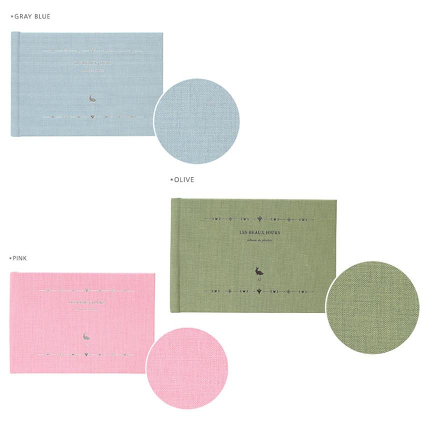 Les beaux jours small scrapbook album