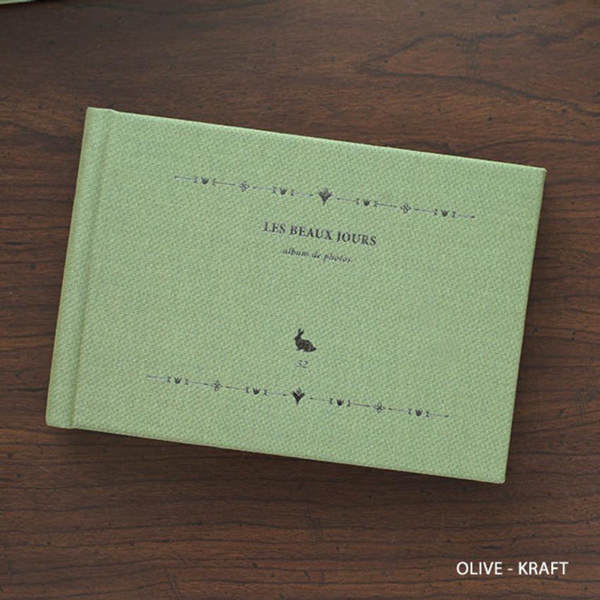 Olive - Les beaux jours small scrapbook album