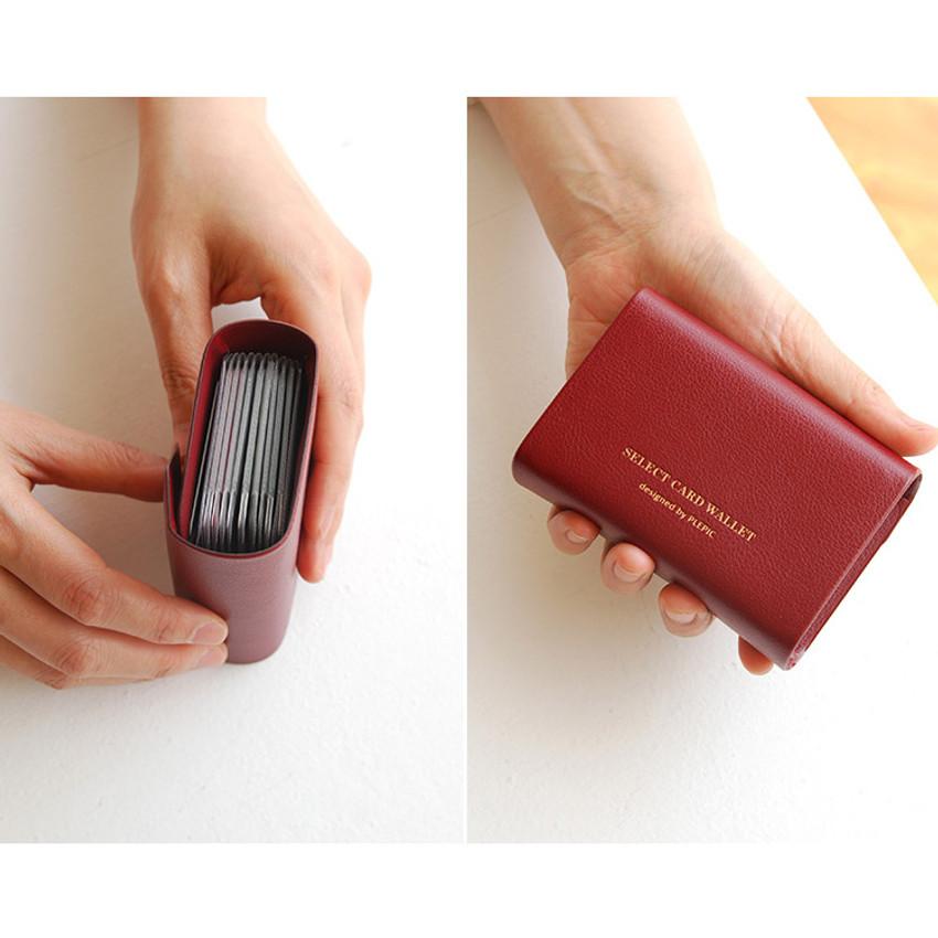 Detail of Select pocket card case holder