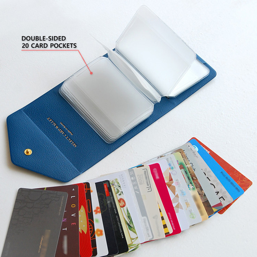 Dual sided pockets