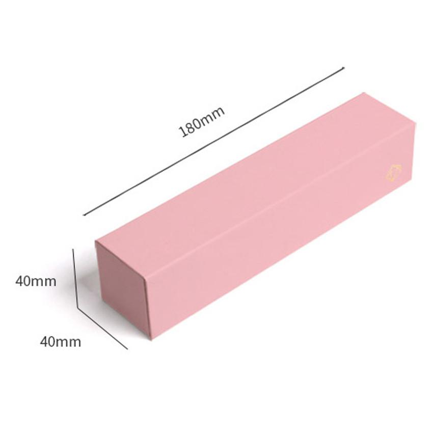 Size of Lapis spring edition paper pen case box