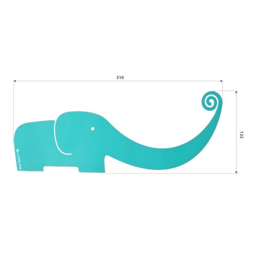Size of Elephant Monitor memo board