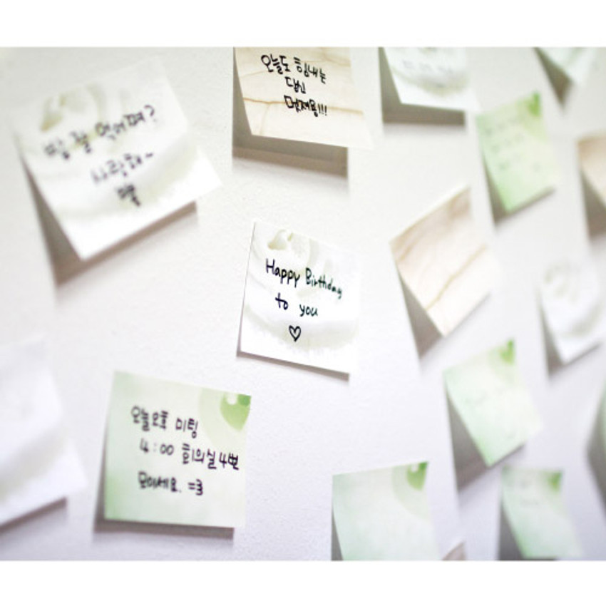 Onion sticky memo notes
