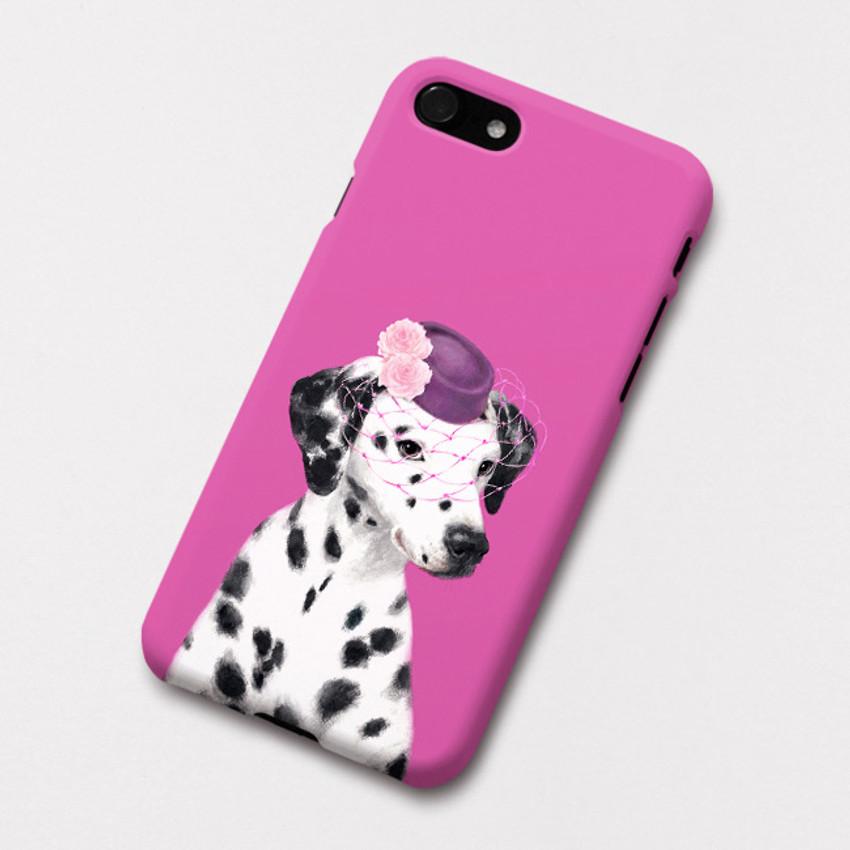 Dalmatian Ann polycarbonate iPhone case