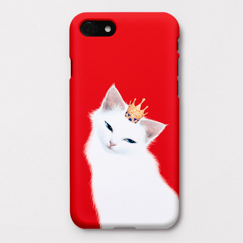 Lily polycarbonate iPhone case