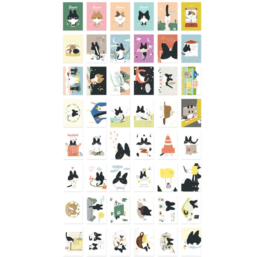Anchovy label paper sticker set
