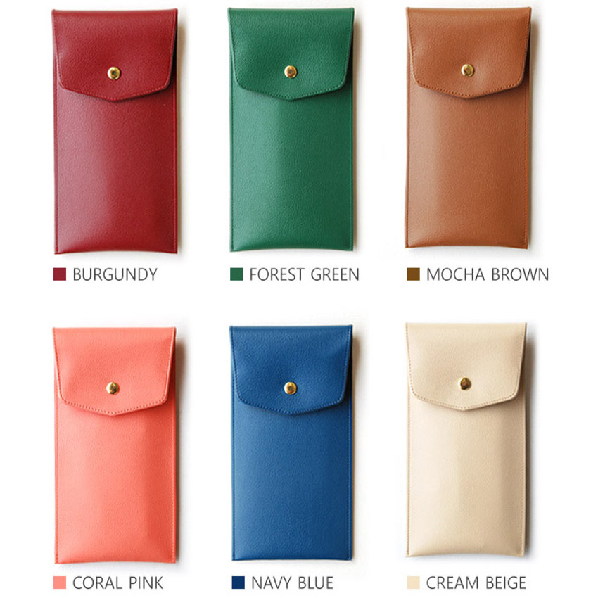 Color of Extra pocket pencil case with snap button