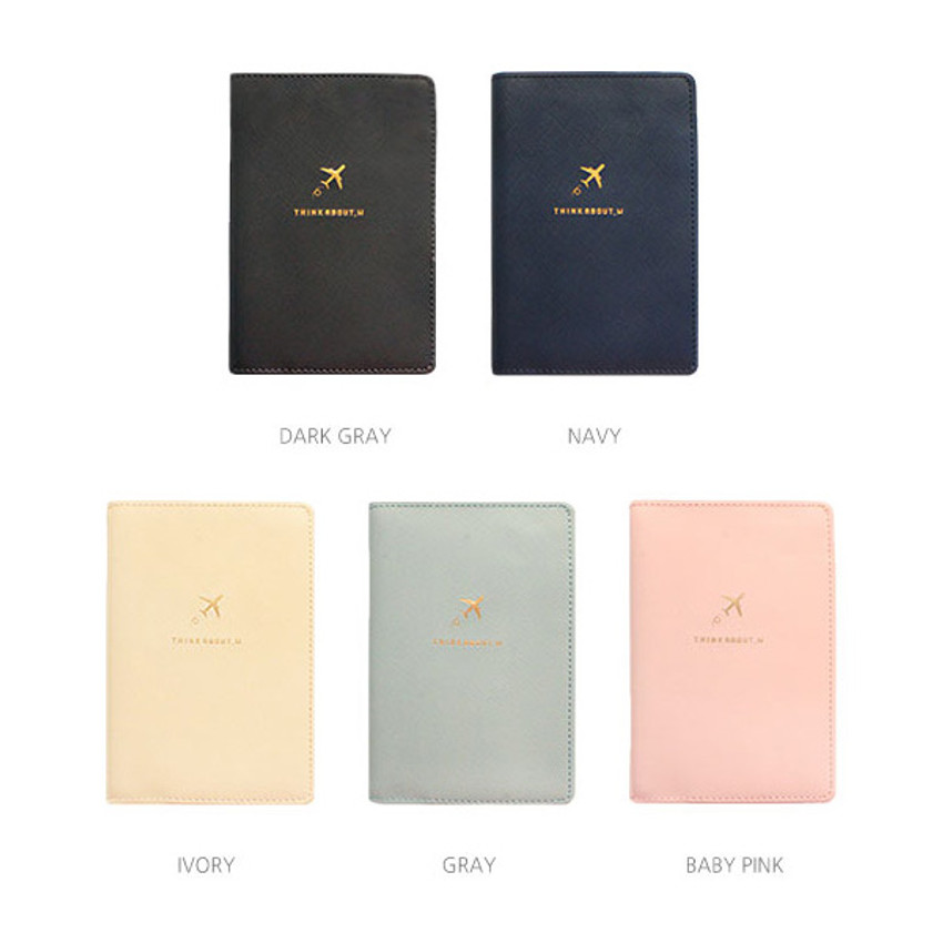 Colors of Think about soft RFID blocking passport cover