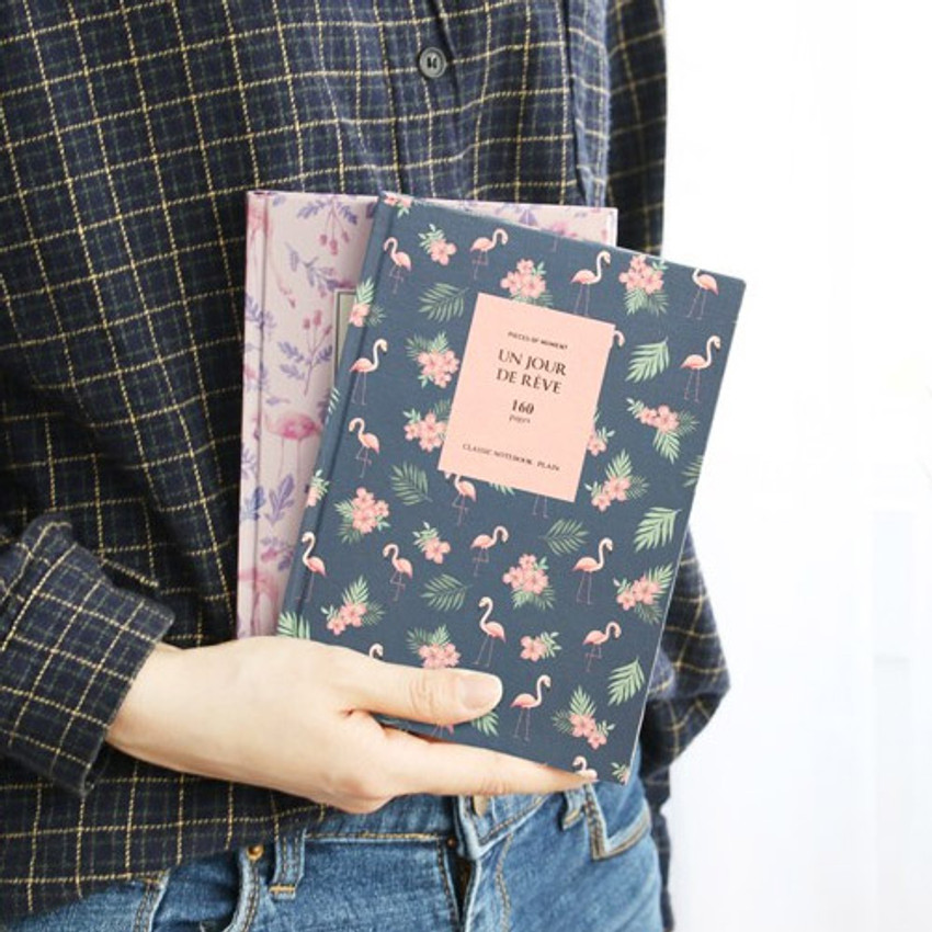 Pattern classic hardcover plain notebook