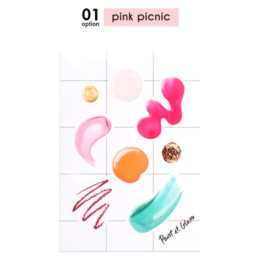 Pink picnic - Paint it gram deco sticker