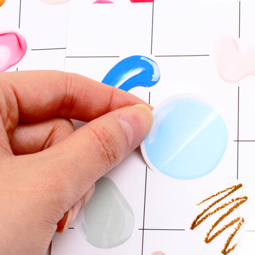 Example of use - Paint it gram deco sticker