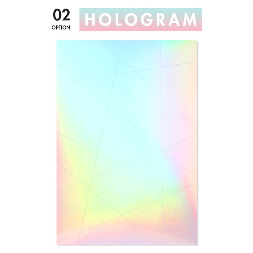 Hologram - Example of use - La piece deco sticker