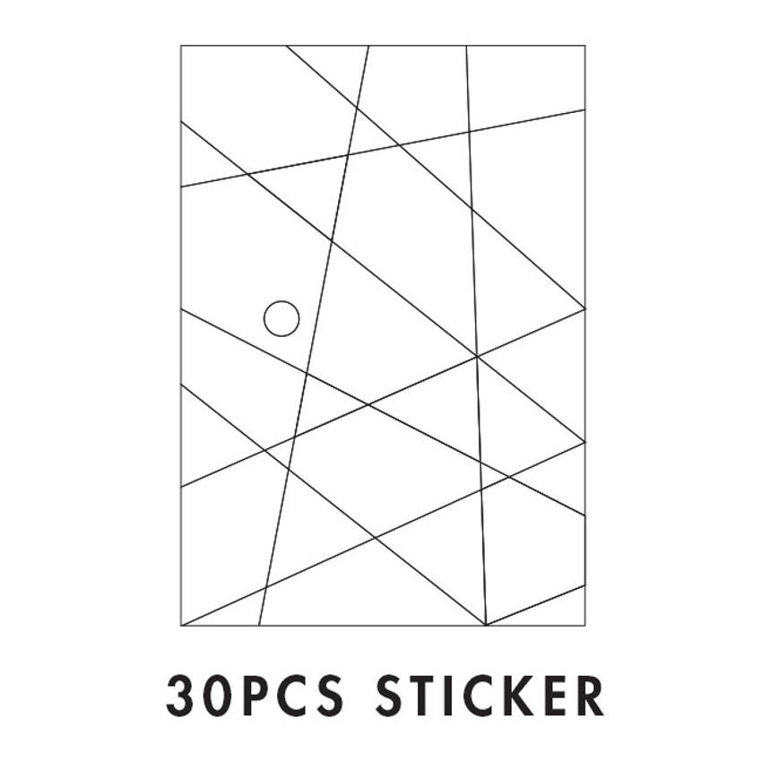La piece deco sticker