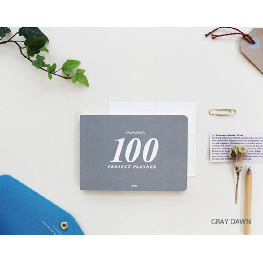 Graydawn - 100 day project planner