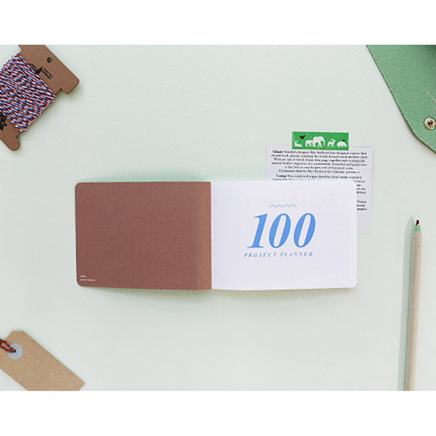 Intro - 100 day project planner