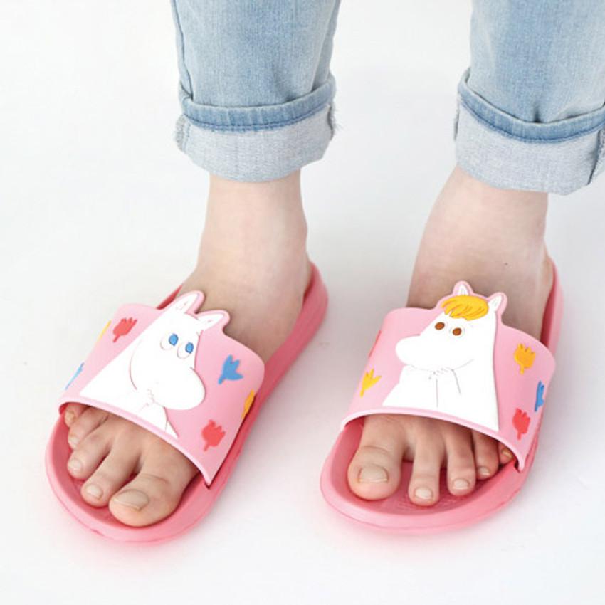 Couple - Moomin PVC slide sandal