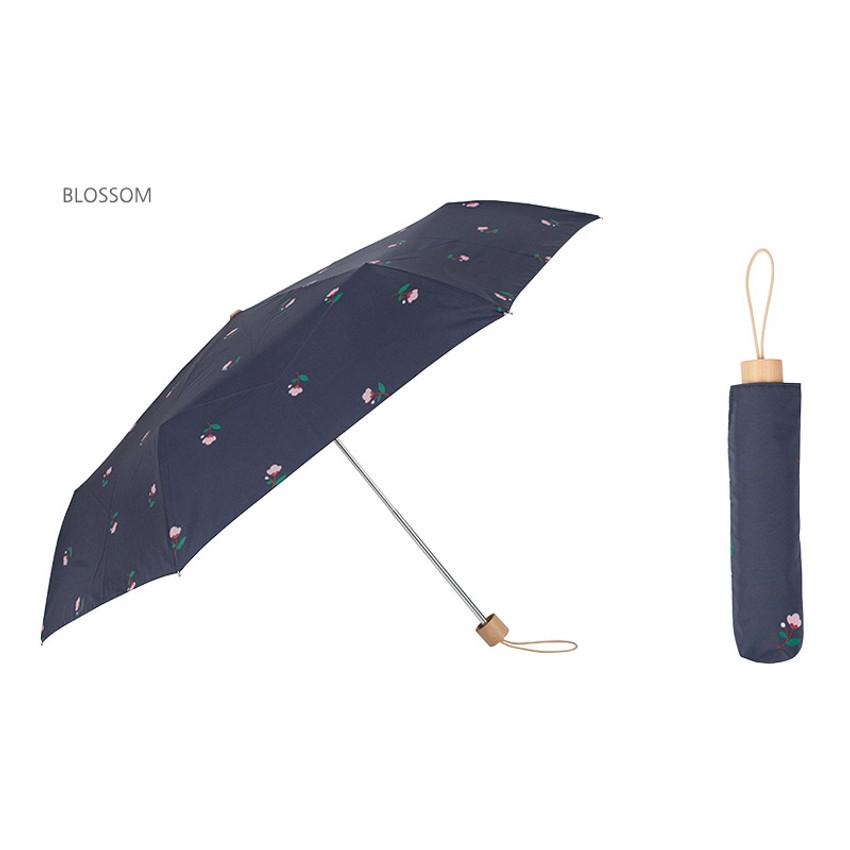 Blossom - Life studio compact foldable pattern umbrella