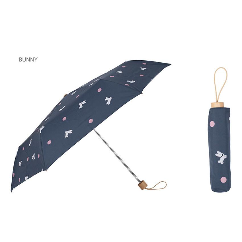Bunny - Life studio compact foldable pattern umbrella