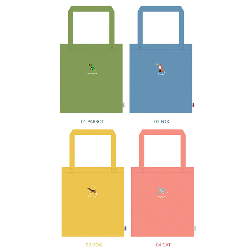 Tailorbird animal space shoulder tote bag