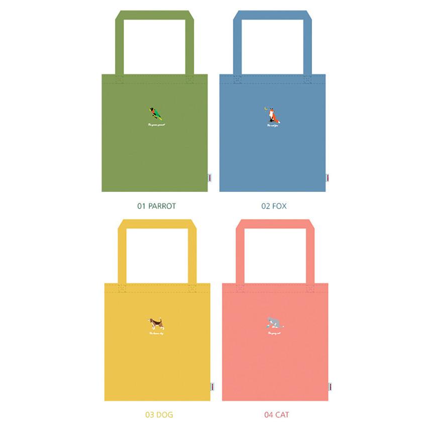 Tailorbird animal space shoulder tote bag