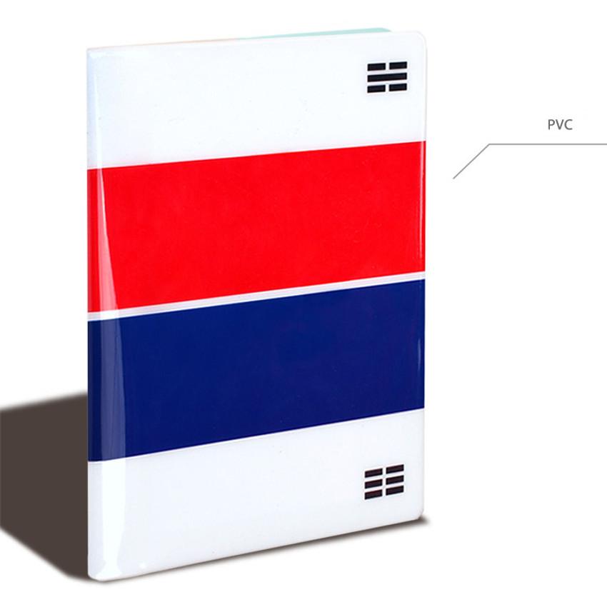 PVC - Flag RFID blocking passport case