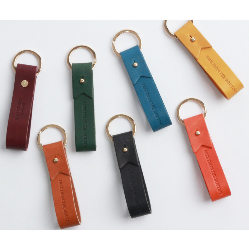 The Classic leather handy key holder