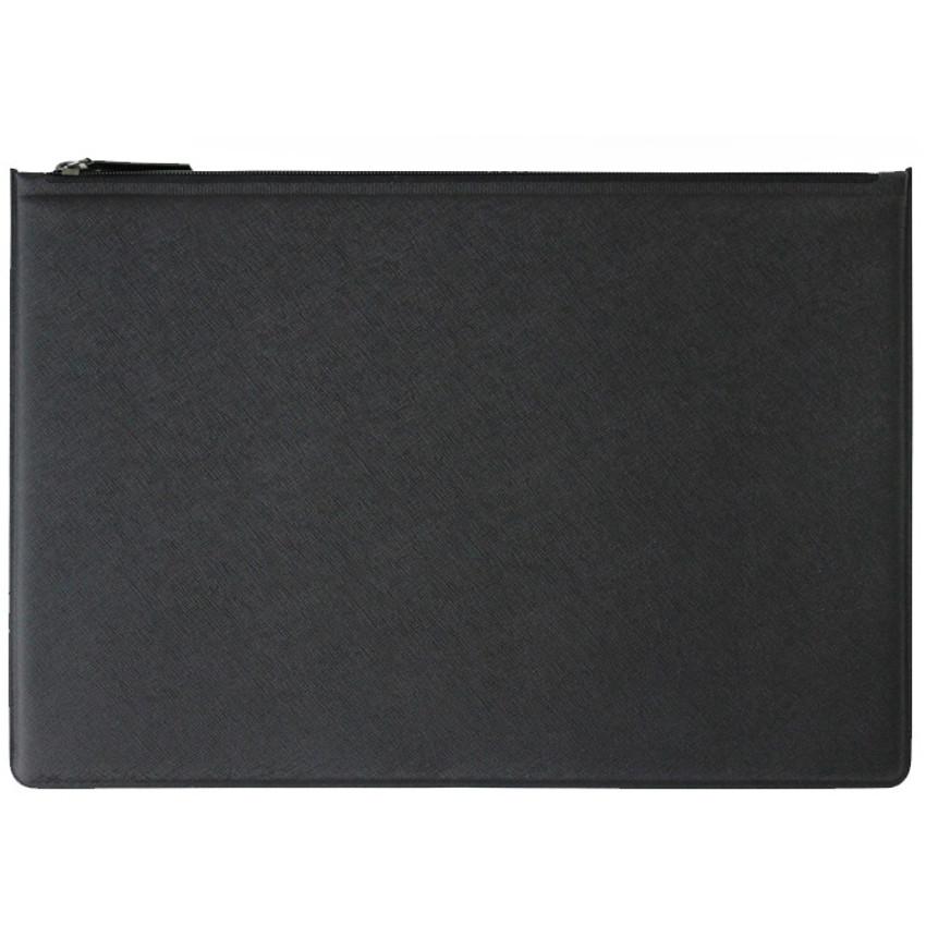 Back - Premium business flat multi zipper pouch