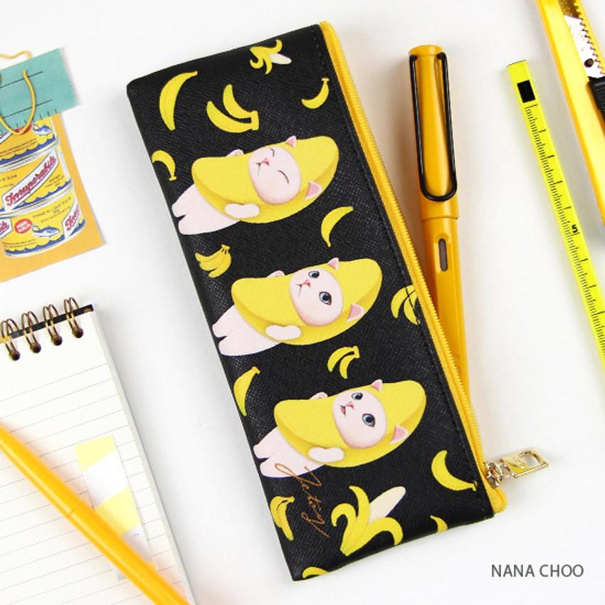 Nana Choo - Choo Choo slim zipper pencil case
