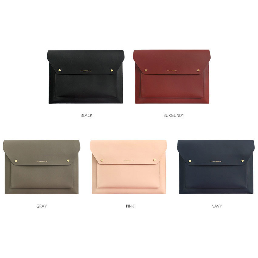 Colors of Think about W 13 inches flat laptop pouch