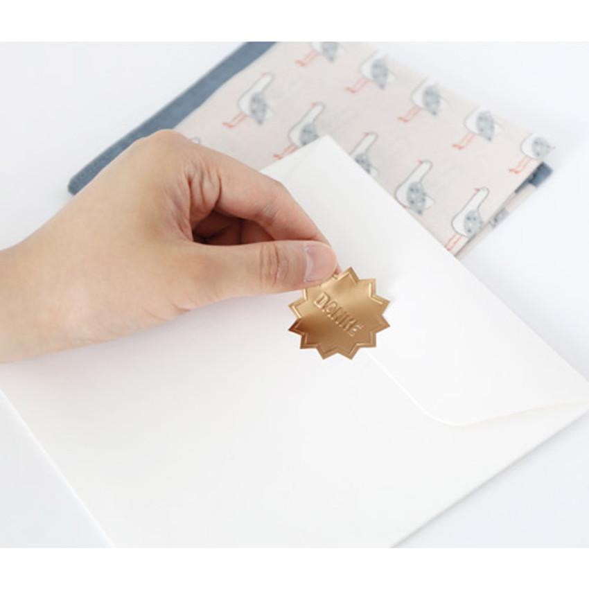 Sticker - My big pattern cotton handkerchief