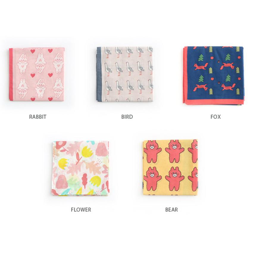 Patterns for My big pattern cotton handkerchief