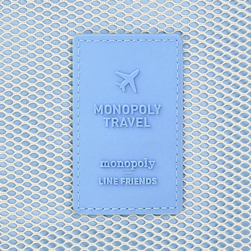 Rubber logo - Line friends travel bag packing organizer