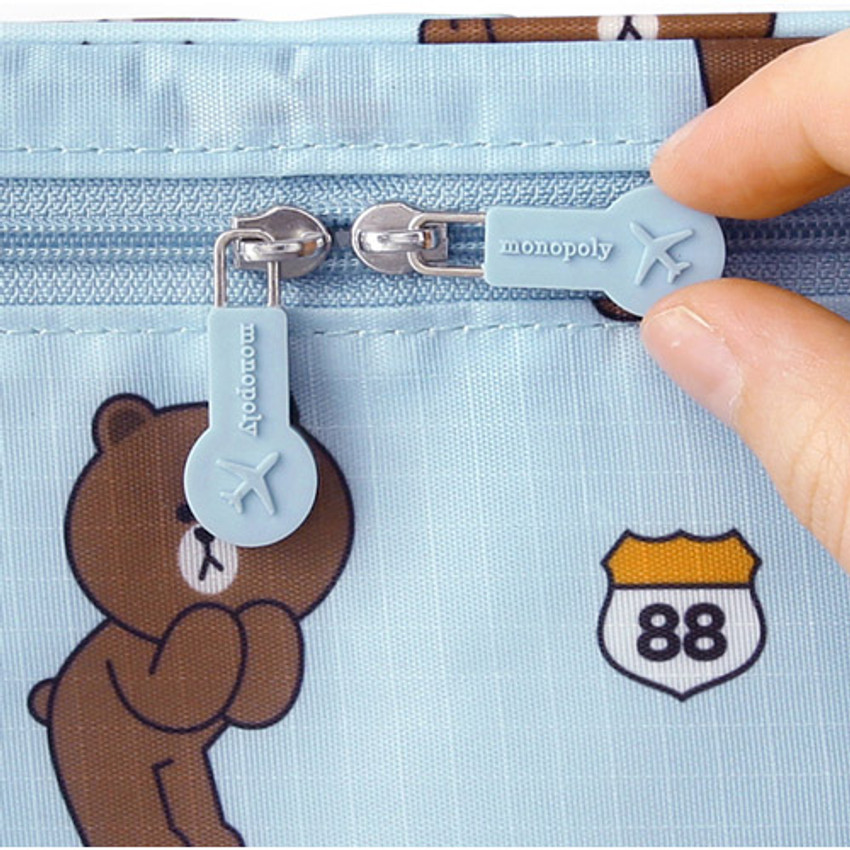Line friends travel hanging toiletry pouch bag