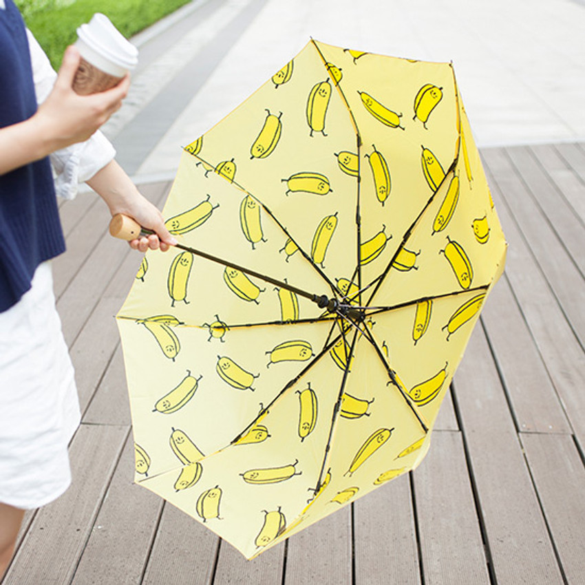 Life studio automatic foldable pattern umbrella