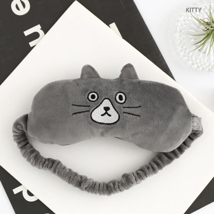 Kitty - Brunch brother eye sleeping mask