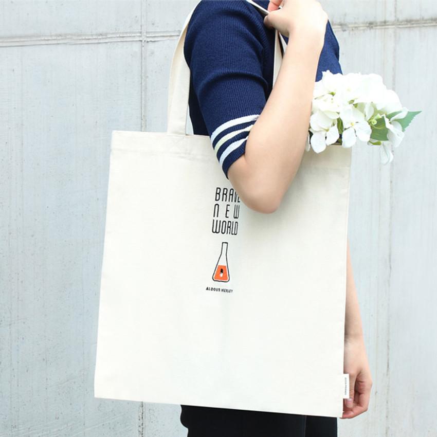 Brave new world - World literature eco tote bag