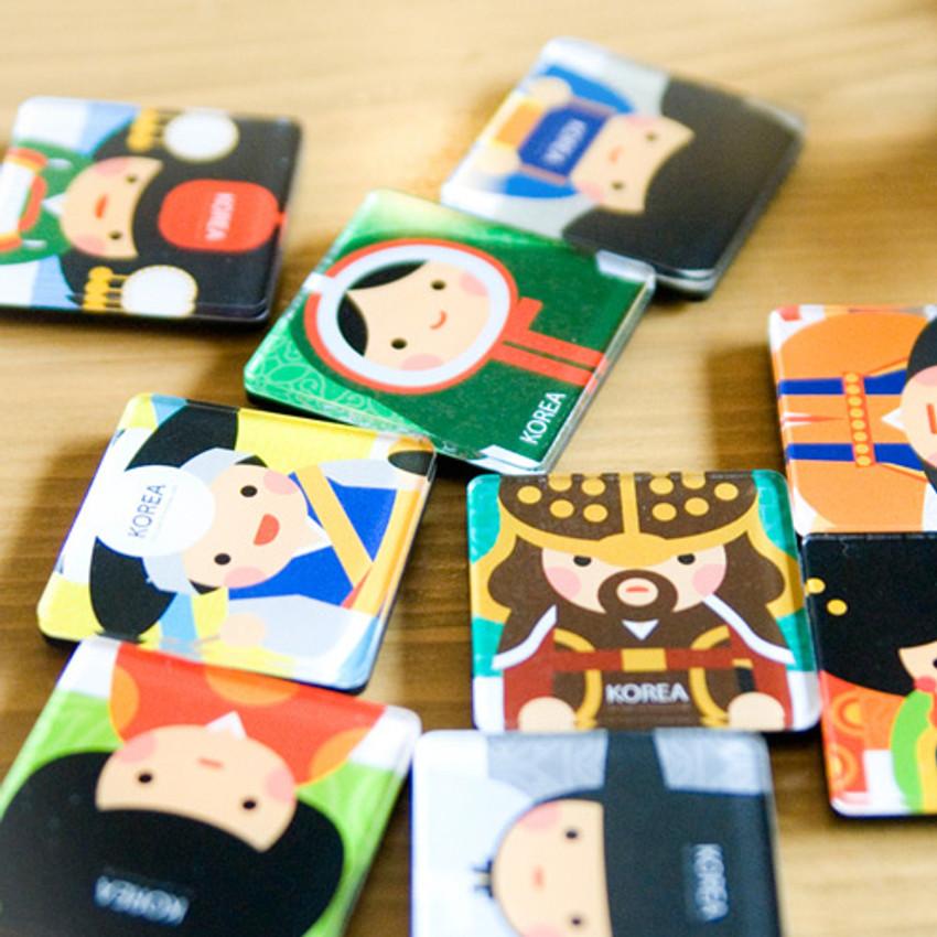 Korean traditional Joseon character magnet