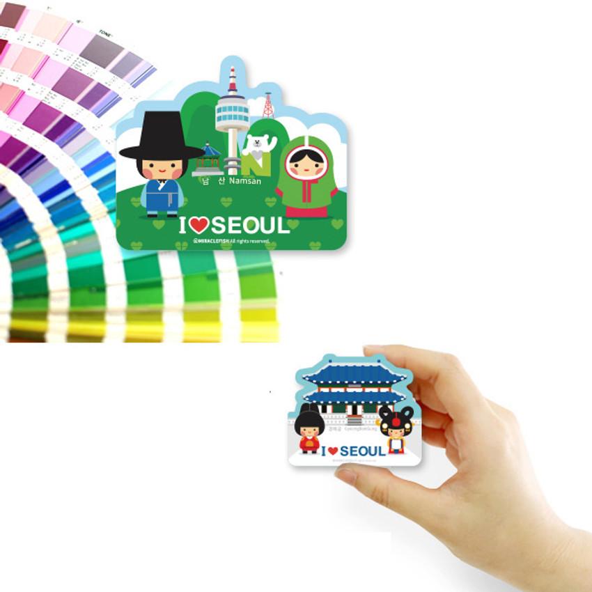 Korean Seoul travel magnet