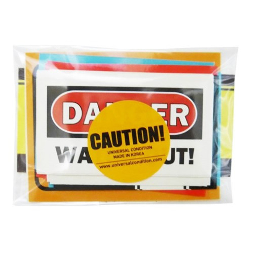 Package for Decorative caution sticker