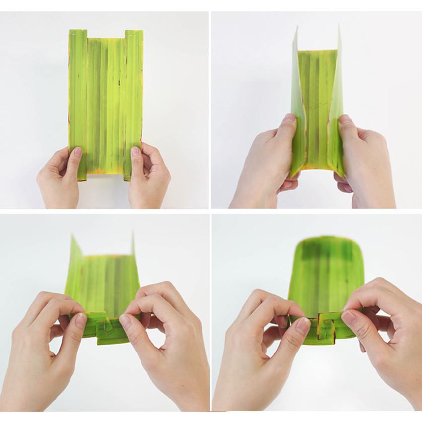 Banana leaf multipurpose tray - large